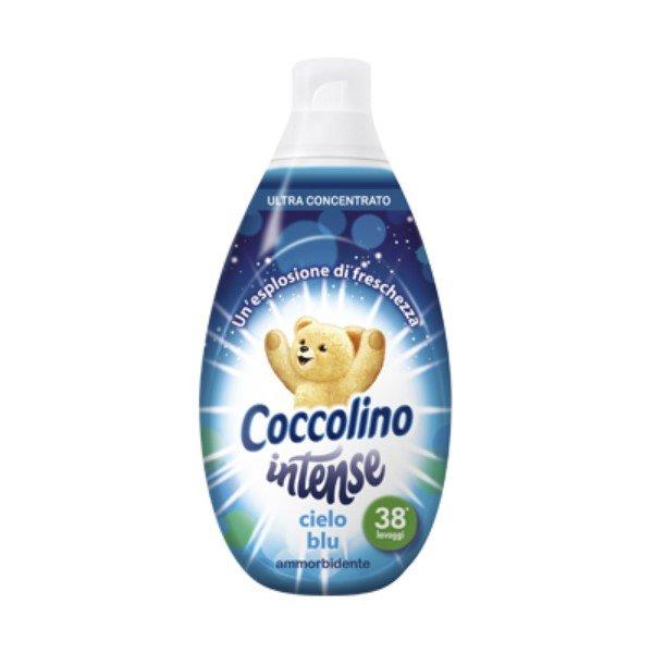 Омекотител Coccolino Intense Cielo blu , 570 мл 38 пранета
